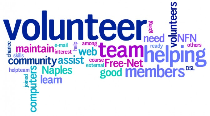 NFN - Volunteer Word Cloud