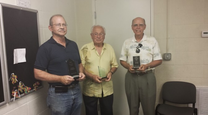 Naples Free-Net Volunteer Awards 2014 - Warren Anderson, Bob Luparello, George Santos